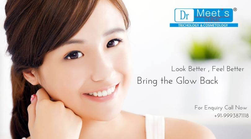 Skin whitening by peel